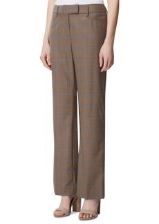 Tahari Asl Plaid Wide-Leg Pants