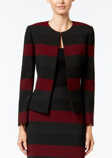 Tahari Asl Petite Striped Jacket