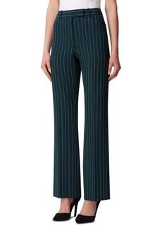 Tahari Asl Pinstriped Trouser Pants