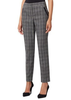 Tahari Asl Plaid Slim-Fit Pants