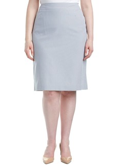 Tahari Asl Plus Pencil Skirt