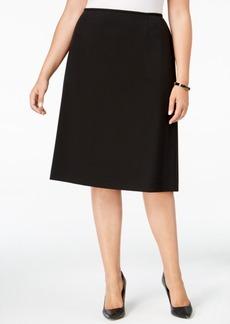 Tahari Asl Plus Size Bi-Stretch Pencil Skirt