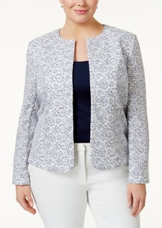 Tahari Asl Plus Size Lace Jacket