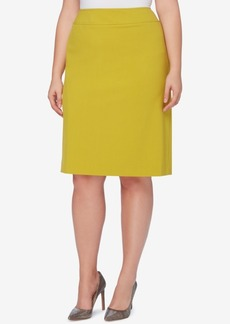 Tahari Asl Plus Size Pencil Skirt
