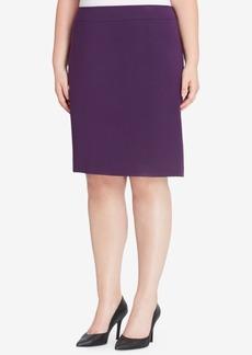 Tahari Asl Ponte-Knit Skirt