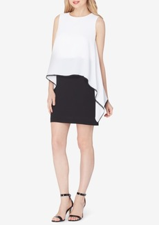 Tahari Asl Popover Sheath Dress