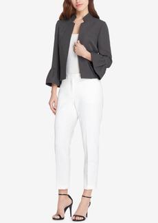 Tahari Asl Printed Bell-Sleeve Pantsuit