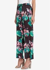 Tahari Asl Printed Drawstring Soft Pants, Regular & Petite