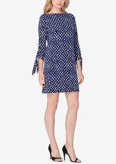 Tahari Asl Printed Jersey Dress