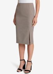 Tahari Asl Printed Pencil Skirt