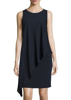 Tahari Roy Layered Sheath Dress