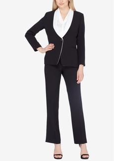 Tahari Asl Shawl-Collar Pantsuit, Regular & Petite