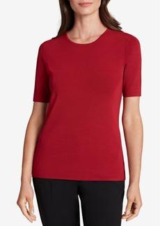 Tahari Asl Short-Sleeve Sweater