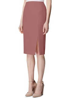 Tahari Asl Side-Slit Pencil Skirt