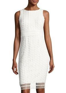 Tahari ASL Sleeveless Chemical Lace Dress