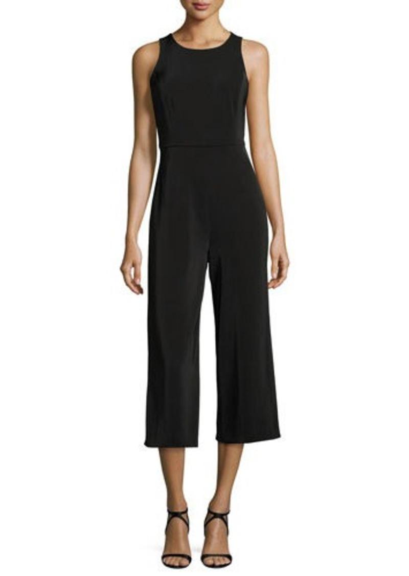 f7303075f443 Tahari Tahari ASL Sleeveless Crepe Culotte Jumpsuit