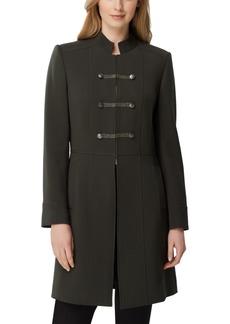 Tahari Asl Stand-Collar Topper Jacket