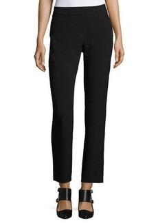 Tahari ASL Straight-Leg Crepe Suiting Pants