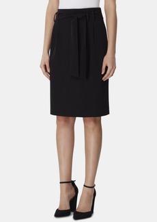 Tahari Asl Tie-Waist Stretch Skirt