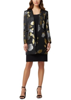 Tahari Asl Topper Jacket & Sheath Dress Suit