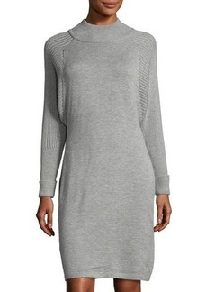 Tahari ASL Turtleneck Sweater Dress