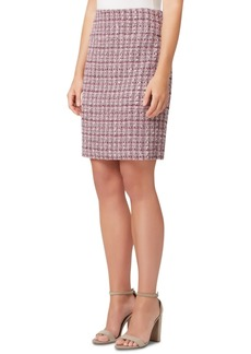 Tahari Asl Tweed Skirt