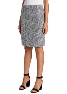 Tahari Asl Tweed Skirt