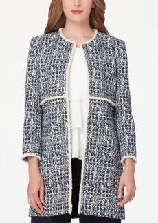Tahari Asl Tweed Topper Jacket