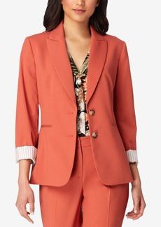 Tahari Asl Two-Button Jacket, Regular & Petite