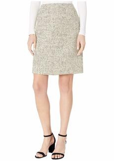 Tahari ASL Women's A-Line Boucle Skirt