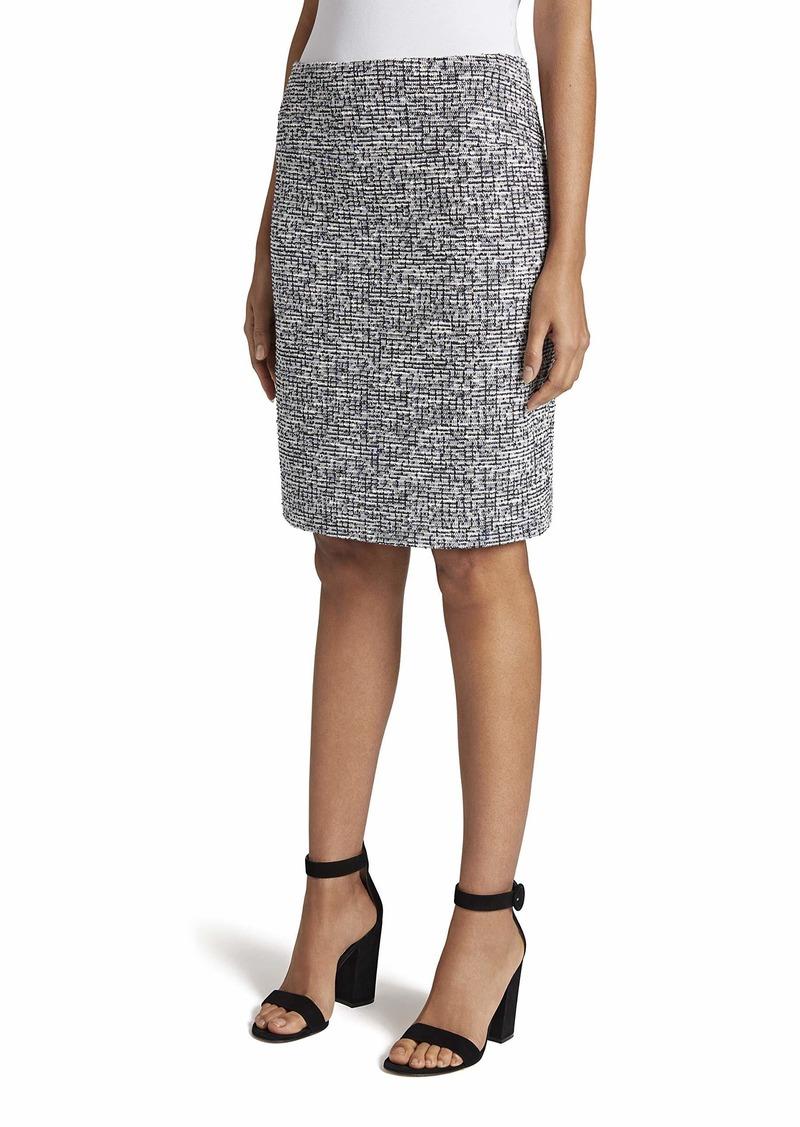 Tahari ASL Women's A-Line Lurex Skirt