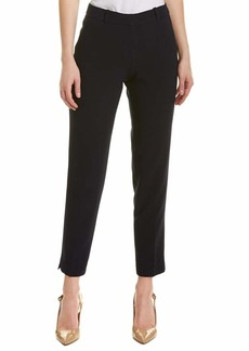 Tahari ASL Women's Ankle Pant with Bottom Slit