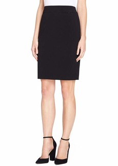 Tahari ASL Women's Bi Strech Side Zip Straight Skirt