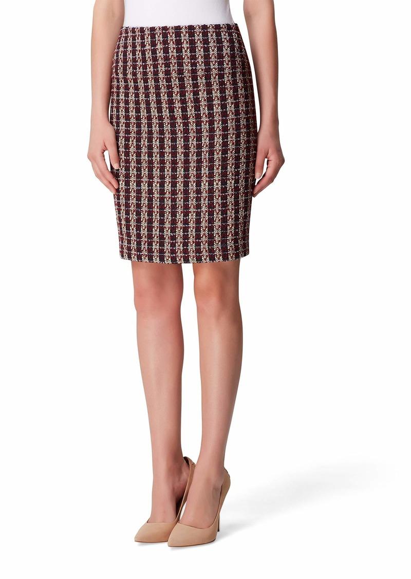 Tahari ASL Women's Bouclé A-line Skirt