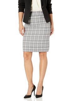 Tahari ASL Women's Double Back Vent Pencil Skirt