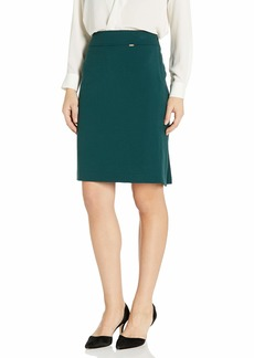 Tahari ASL Women's Double-Weave Pencil Skirt
