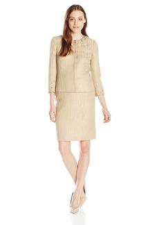 Tahari by Arthur S. Levine Women's Francine Skirt Suit