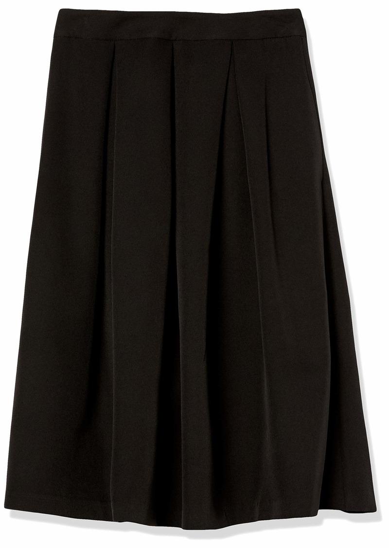 Tahari ASL Women's Inverted Pleat Skirt