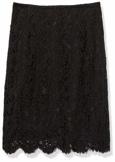 Tahari ASL Women's Lace Pencil Skirt