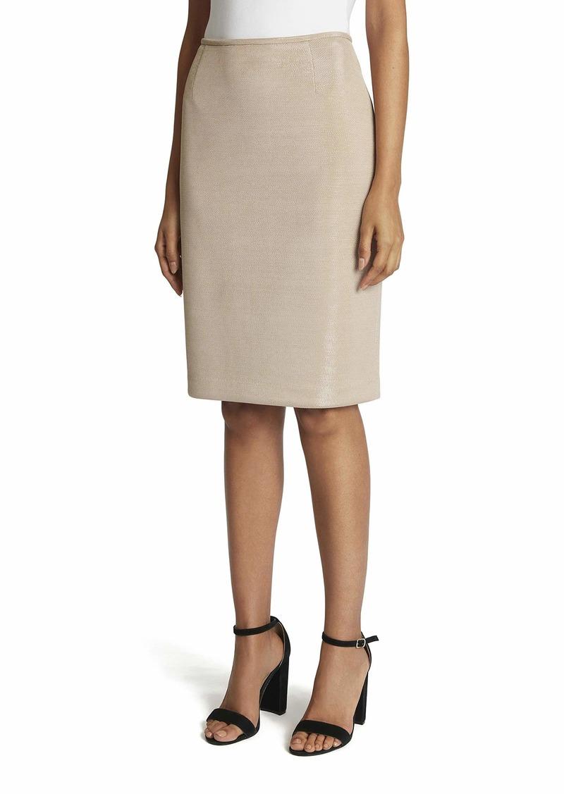 Tahari ASL Women's Lurex Pencil Skirt