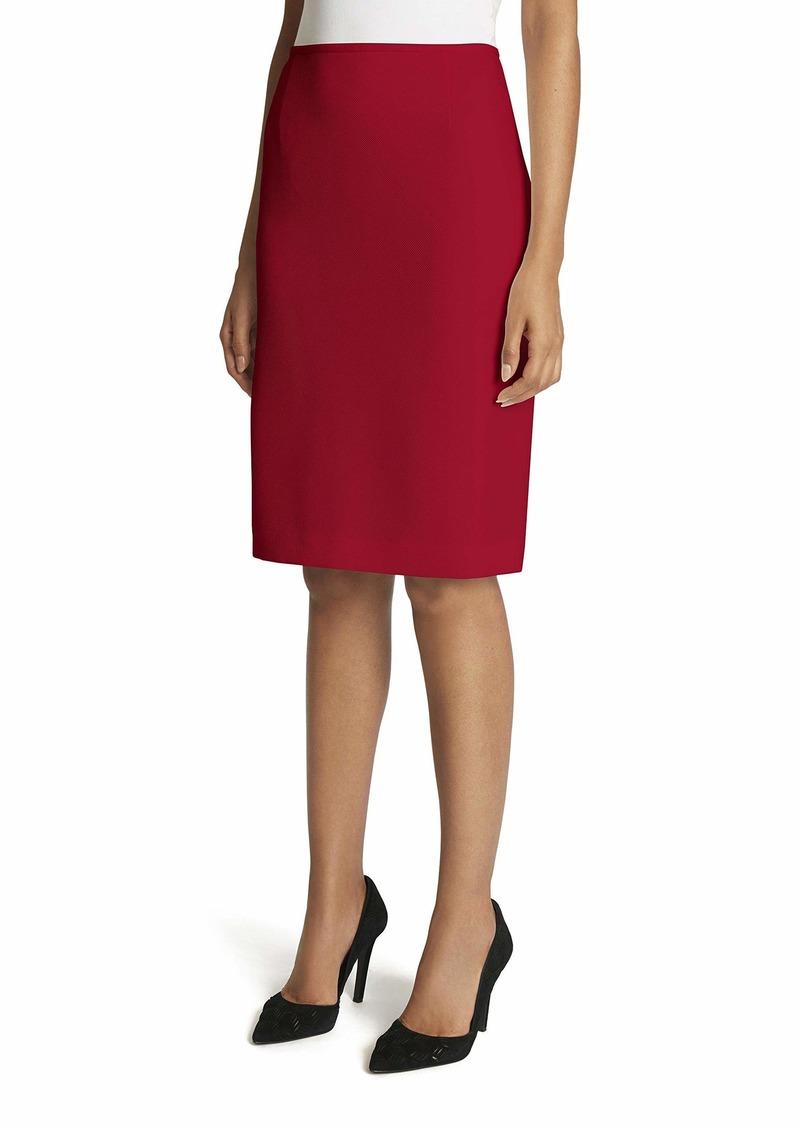 Tahari ASL Women's Parker Twill Pencil Skirt