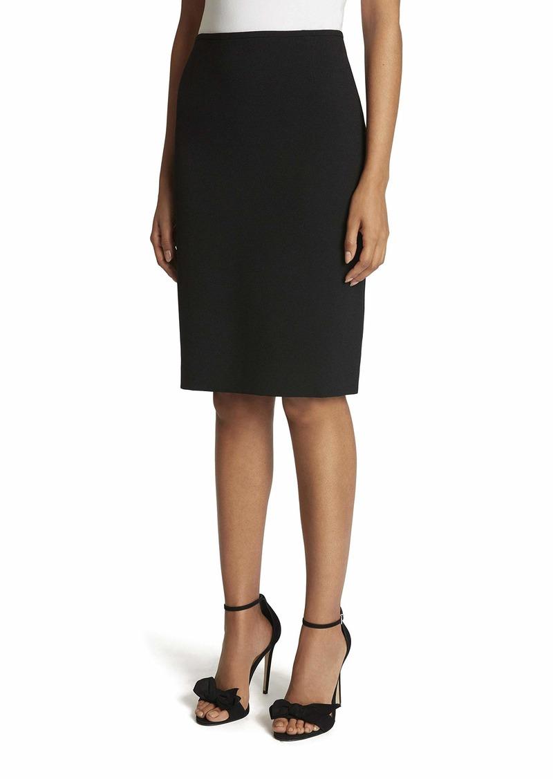 Tahari ASL Women's Pebble Crepe Pencil Skirt