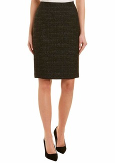 Tahari ASL Women's Pencil Skirt with Metallic Accents