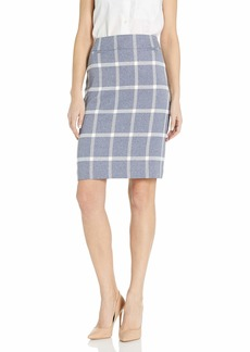 Tahari ASL Women's Petite Pencil Skirt with Pockets  4P