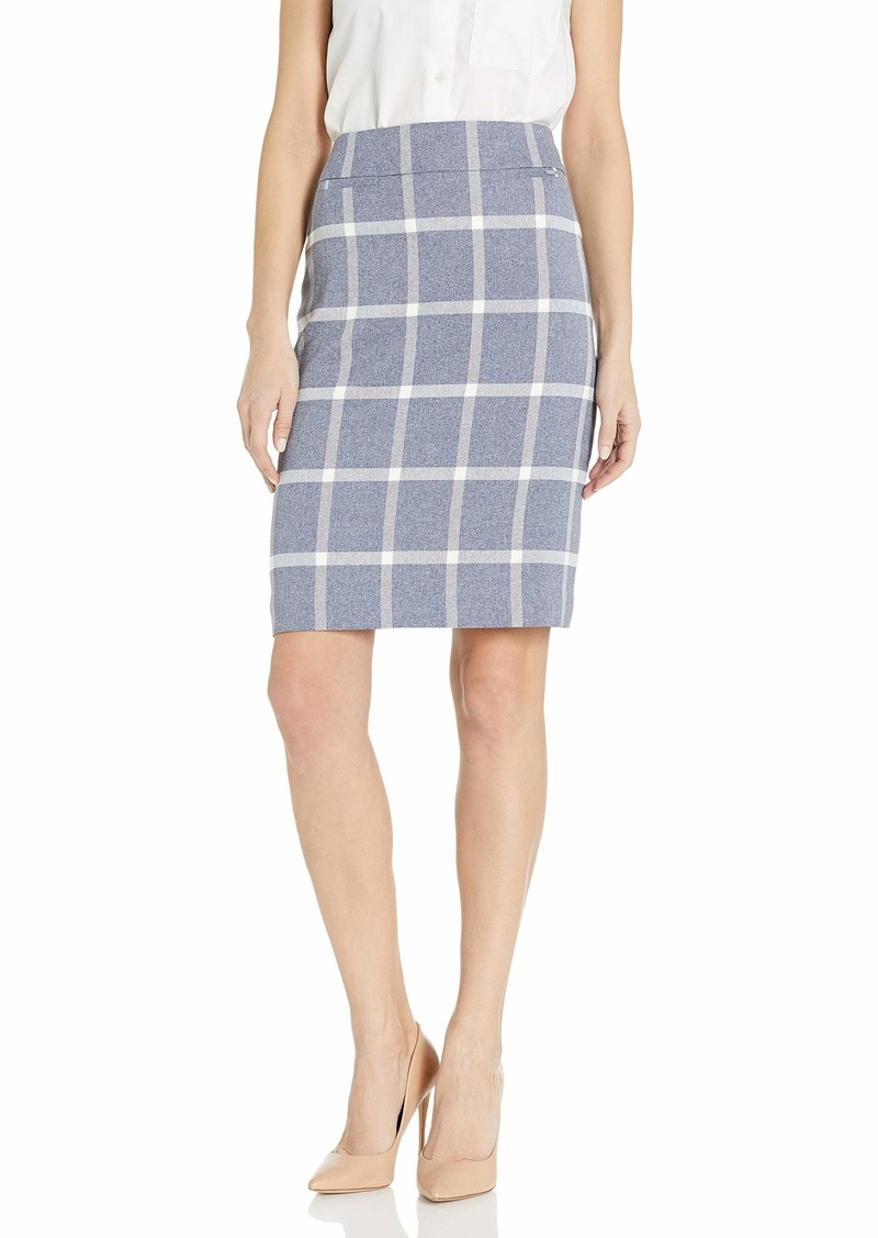 Tahari ASL Women's Pencil Skirt with Pockets