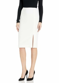 Tahari ASL Women's Pencil Skirt with Slit