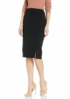 Tahari ASL Women's Pencil Skirt with Slit