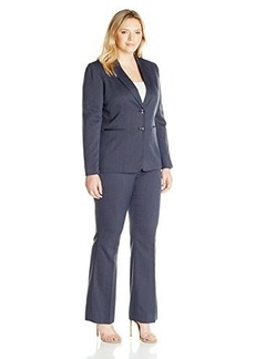 Tahari ASL Women's Plus-Size Novelty Pant Suit