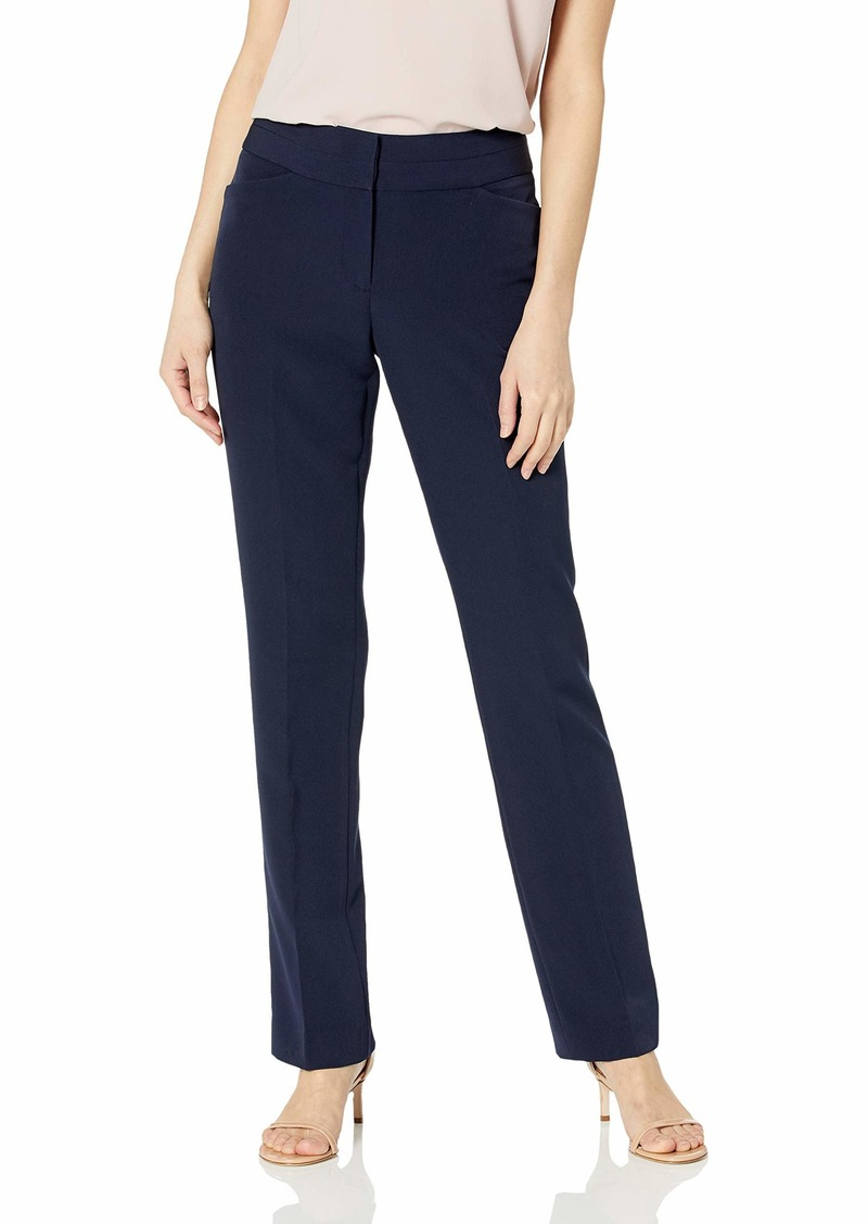 Tahari ASL Women's Split WB Straight Leg Replenishment Pant