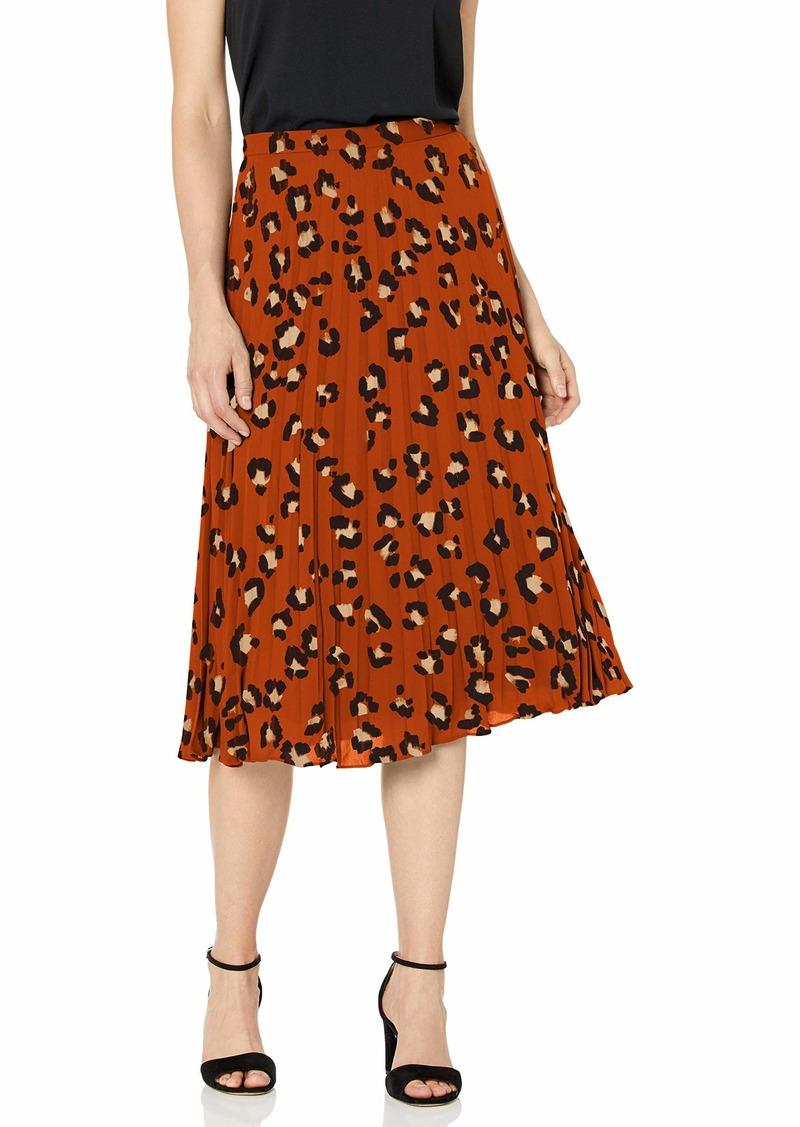 Tahari ASL Women's Sunburst Pleated Skirt
